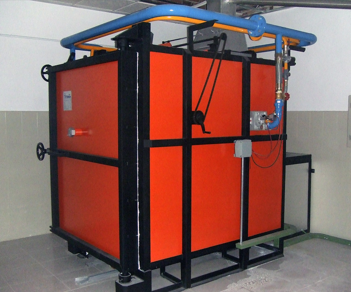 hornos jet aire gas